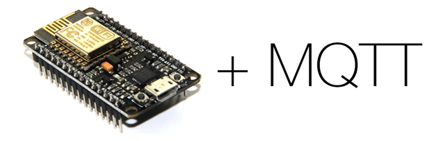 A simple connected object with NodeMCU and MQTT